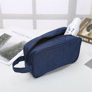 Wholesale travel organiser bags resale online - Makeup Men For Bag Pouch Handbag Zipper Toiletry Portable Unisex Women s Travel Cosmetic Organiser Wash Fashion Women Xkxgb