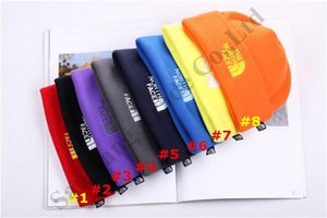 Wholesale Men Women NF Polar Fleece Beanie The North Winter Skiing Caps Hats Face Brand Skull Caps Outdoor Unisex Street Warm Cap Cover Ear Muff C9603