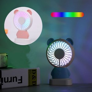 Mini Portable Battery Powered USB LED Light Fan Handheld Pocket PC Fan Air Cooler Electric Laptop Home Office D08B