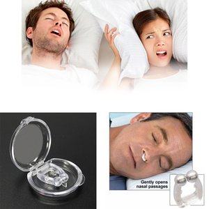 Wholesale New Silicone Anti Snore Nasal Dilators Apnea Device Nose Clip Stop Snoring Night Sleeping high quality