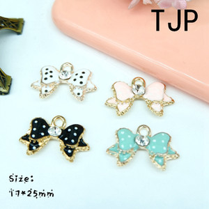 Wholesale Kawaii Bow Charms Pendants for DIY decoration bracelets necklace earring key chain Jewelry Making
