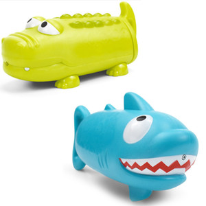 Wholesale Crocodile Shark Shape Playing Water Toys Children s Pumping Water Toy Outdoor Swimming Pool Game Children s Gifts