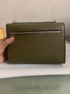Wholesale Fashion women handbag Genuine leather Shoulder handbag men Messenger bag Top quality Cross body bags Men and women wallet with box