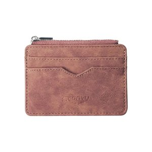 Wholesale Men Leather Multi card Card Holder Wallet Frosted Fabric Card Holder Package Dropshipping Clutch Handbag small Bag D