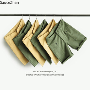 Wholesale SauceZhan USMC P44 U S Army Shorts VINTAGE Casual Shorts American Retro Overalls VINTAGE Mens