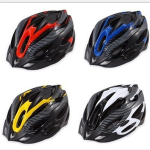 Wholesale Mountain Bike Helmet Bicycle Riding Mask Men And Women Craniacea Wear Resistant Black Yellow New Arrival jy C1