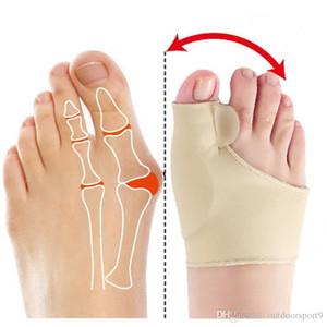 1Pair Big Bone Orthopedic Bunion Correction Pedicure Socks Silicone Hallux Valgus Corrector Braces Toes Separator Feet Care Tool