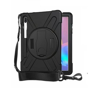 NEW for Samsung Tab S6 10.5 T860 T865 T867 2019 Tab T390 T395 Drop resistance Hybrid Shockproof Holder apple pencil with Shoulder strap