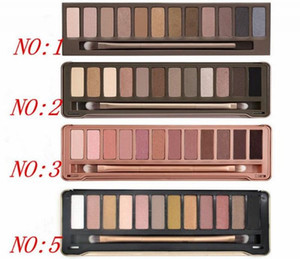 Factory Direct DHL Free Shipping New Makeup Eye Hot NO:1 2 3 5 Palette 12 Colors Eyeshadow!