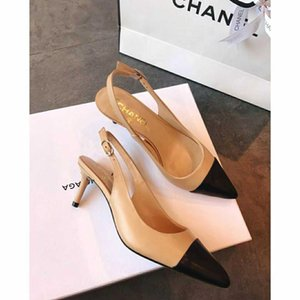top Real leather brand design woman high heel dress shoes party fashion girl sexy pointed wedding shoes high heel sandals