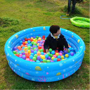 Inflatable Baby Swimming Pool Piscina Portable Outdoor Kids Print Sea Ball Pool Basin Bathtub Kids Baby Swimming For Children bathing LT694