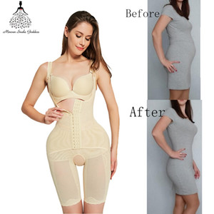 Wholesale Shapewear body shaper Women butt lifter waist trainer Corrective Slimming underwear bodysuit Sheath Belly faja girdle belts