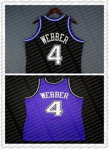 100% Stitched Chris Webber Mitchell & Ness 98 99 Jersey Wholesale Jersey Mens Vest Size XS-6XL Stitched basketball Jerseys Ncaa