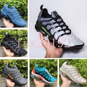Wholesale 2019 TN Plus In Metallic Olive Men Running Designer Luxury Shoes High Quality Sneakers Brand Trainers Shoes