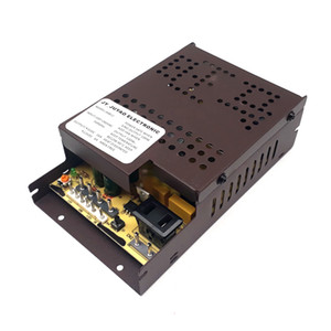 AC100V-260V input, 2 output voltage 12V6A 5V16A Power supply power switch for game machine, vending machine