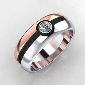 Wholesale Contrast color Ball Diamond Ring engagement rings for women new designer jewelry women rings Fashion Jewelry Christmas Gift