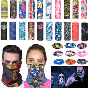 mascarillas de viento al por mayor-Magic Cycling Bufanda Máscara al aire libre Pañuelo Sport Ski Ski Snowboard Wind Cap Cycling Balaclavas Turban Motorcycle Face Masks Mascarillas de fiesta XD22056