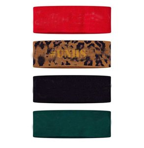 sale! Fashion Leopard UNHS Big Logo Reflective Brooklyn camo headband 3M hiphop TOP quality 4colors free shipping