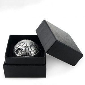 Wholesale death stars for sale - Group buy Ball Shaped Grinders Alloy Metal Grinder Smoking Ball Shaped Grinders Layers Diameter mm Symbolic Death Star Smoking Grinders LSK123