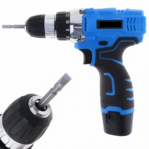 Wholesale lithium cordless screwdriver resale online - Freeshipping Vt601 V Cordless Electric Screwdriver Drill Rechargeable Lithium Battery Electric Screw Driver With Two Speed Adjustm