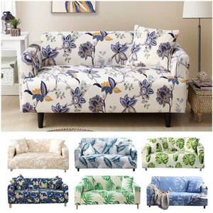 Wholesale sofa slipcovers resale online - Nordic Style Slipcovers Sofa Cover Cotton Elastic Sofa Cover for Living Room Couch Towel Single Two Three Four seater