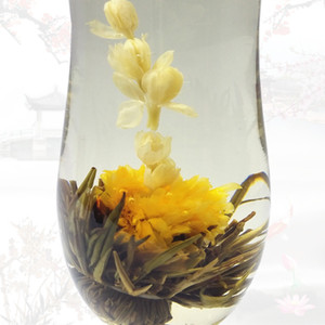 Wholesale 20 Kinds Of Top Quality Chinese Handmade Different Flavored Flower Blooming Tea