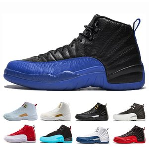 New Arrive Game Royal FIBA Designer 12s men basketball shoes Bulls Deep Royal Blue taxi playoffs gamma blue mens trainers sneakers