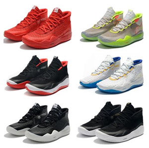 Wholesale kids shoe s resale online - KD special s Kid edition Basketball Shoes men Kevin Durant Debuts Zoom KD Anniversary University S XII Oreo Men Basketball Shoes