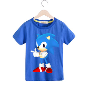 Boys Cartoon Mario Print Clothes Girls 3D Funny T-shirts Costume Children 2019 Spring Clothing Kids Tees Top Baby Tshirts