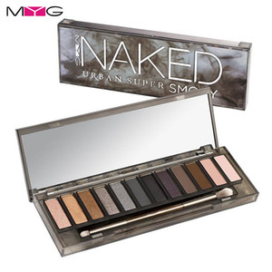 Wholesale smoky palette 12 for sale - Group buy MYG Smoky Eyeshadow Palette Colors Makeup Palette Matte Naked Eyes Easy to Wear Eyeshadow Palette