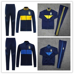 2019 2020 7 Stars Tiger Tracksuit UANL Blue yellow Shirt 19 20 Mexico Club Football Uniform Training suit Long Zipper Sport Wear Sets