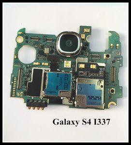 100%Working~Original Unlock Motherboard for Samsung Galaxy s4 I337 LTE WCDMA Mainboard I337 Board Clean IMEI free shipping
