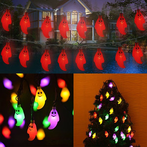 Wholesale New LED Ghost Lights Halloween Christmas Decorations Lights Ghost Solar Home Outdoor Garden Patio Party Holiday Supplies In Stock AN2585