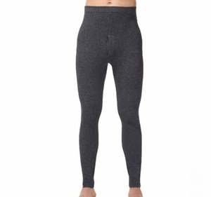 Wholesale Hot Sales New style Men s Warm Pants Sexy Thermal Underwear Cashmere Wool Knitted High Quality