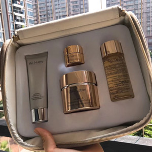 2019 Brand Skin Care Kit with Bag The Secret of Infinite Beauty Ultimate Regenerating Youth Collection for Face 1set free