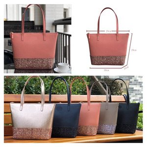 Women KS Designer Handbags Classic Stars Giltter Shopping Bag PU Leather Lady Luxury shoulder bags Totes Fashion brand Female purse C52808 on Sale