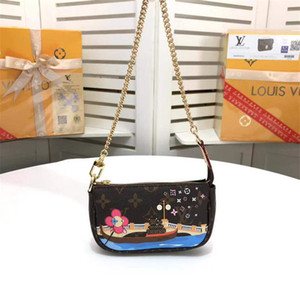 Wholesale Girls Lovely Cross Body Bag Mini Women Outdoor Purse Wallet Cute Printed Shoulder Bag Types