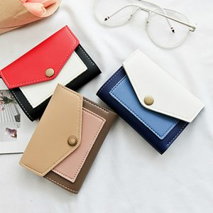 Wholesale Fashion Top Quality Small Wallet PU Leather Purse Short Female Coin Wallet Hasp Clutch Coin Purse Holder Banded Bag