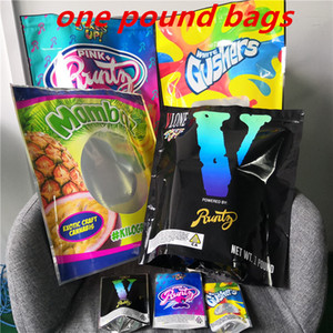 Joke's UP! 1 Pound PINK+Runtz White Gushers V Runtz Mambaz Smell Proof Bags 420 Dry Herb Flowers 1 pound Top mylar bags on Sale