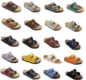 Wholesale leather brand shoes With Orignal box Men s Woman Gizeh style Flat Sandals Casual Herringbone Sandals Summer Beach Genuine Leather Slippers