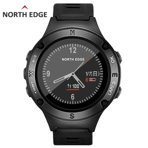 NORTH EDGE GPS Watch Running Swimming Cycling Bluetooth Heart Rate Meter Intelligent Outdoor Sports Watch FOURIER on Sale