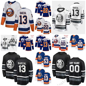 Wholesale 2019 All Star Game 66 Josh Ho-Sang NY Islanders 13 Mathew Barzal Anders Lee Tavares Casey Cizikas Anthony Beauvillier Third Hockey Jerseys