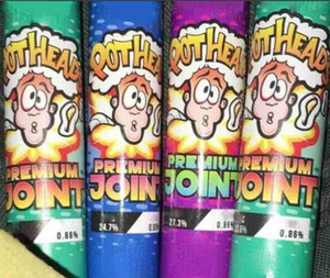 22*120mm POTHEADS PREMIUM JOINT glass Tubes Preroll Joints and Rolls Tube King Size Preroll Joint Tubes