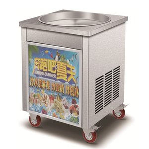 Wholesale Ice Cream Roll Equipment Commercial Fried Yogurt Machine v v Electric Thailand Fry Ice Cream Pan