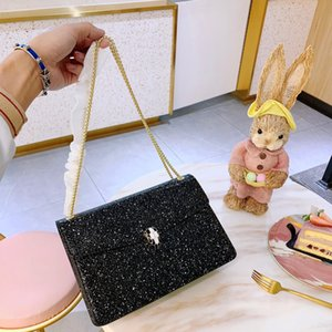 Wholesale Fashion Lady Womens Girl Girlish Designer Shoulder Bag Brand Cross Body Luxury Handbag Leather Unique Child Woman Chic B103814Z