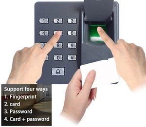 RFID Fingerprint Reader & Password Keypad With ID Card 125Khz EM4100 For Door Access Control System Support 500 fingerprint & 500card users on Sale