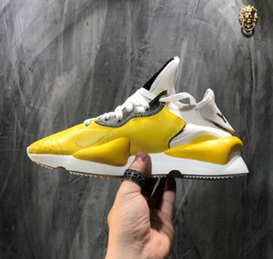 Wholesale Top sale High Quality Y3 Kaiwa Yellow Chunky Yohji Shoes New Fashion Men Core Black White Red Casual shoes Size