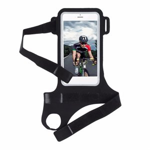 Wholesale Running Riding Arm Band Case Waterproof Outdoor Wrist Bag For iPhone Case Sport Mobile Phone Holder Bags