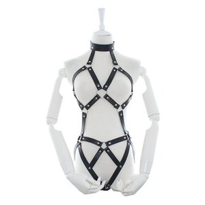 Sex appeal leather sexy bondage clothes female adult toys Pu leather clothing manufacturers wholesale alternative flirting equipment