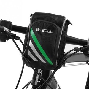 Wholesale B SOUL Bicycle Bag Bike Front Handlebar Bag Nylon Cycling Top Tube Cycling Front Frame Pannier Shoulder Pack Bike Accessory